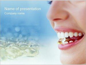 Шаблон презентации PowerPoint: Употребление таблеток