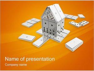 Шаблон презентации PowerPoint: Домино