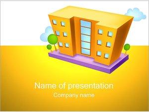 Шаблон презентации PowerPoint: Многоэтажный дом