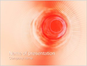 Шаблон презентации PowerPoint: Бежевый тоннель