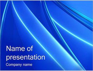 Шаблон презентации PowerPoint: Простой синий