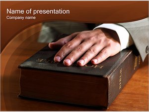 Шаблон презентации PowerPoint: Библия