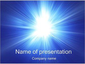 Шаблон презентации PowerPoint: Яркий свет