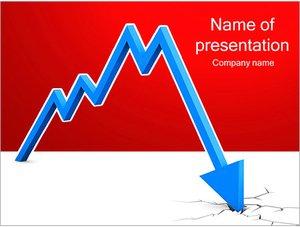 Шаблон презентации PowerPoint: Финансовый кризис
