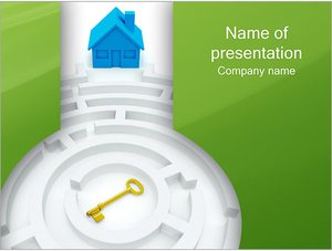 Шаблон презентации PowerPoint: Лабиринт