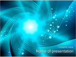 Шаблон презентации PowerPoint: Абстрактная воронка
