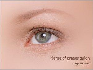 Шаблон презентации PowerPoint: Глаз