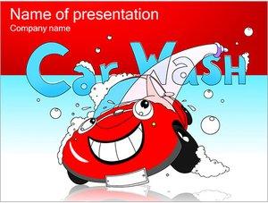 Шаблон презентации PowerPoint: Автомойка