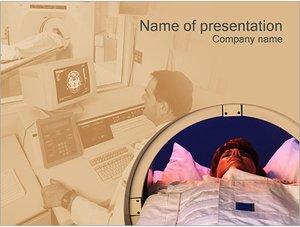 Шаблон презентации PowerPoint: Обследование головы (МРТ)