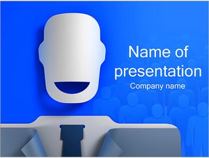 Шаблон презентации PowerPoint: Бизнесмен