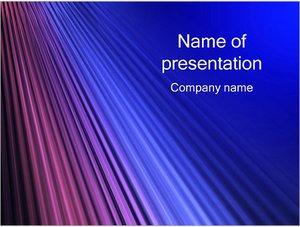 Шаблон презентации PowerPoint: Абстрактные лучи