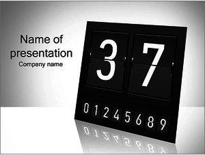 Шаблон презентации PowerPoint: Счетчик