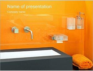 Шаблон презентации PowerPoint: Ванная комната