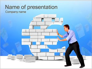 Шаблон презентации PowerPoint: Обмен валюты