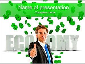 Шаблон презентации PowerPoint: Эффективная экономика