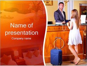 Шаблон презентации PowerPoint: Размещение в отеле