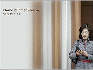 Шаблон презентации PowerPoint: Звонок по телефону