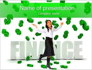 Шаблон презентации PowerPoint: Финансовая свобода