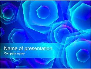 Шаблон презентации PowerPoint: Абстракция из алмазов