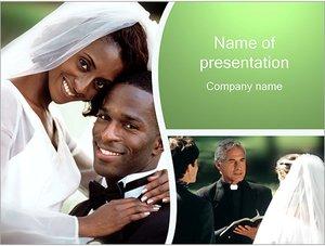 Шаблон презентации PowerPoint: Брак
