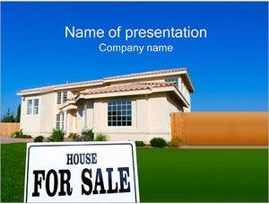 Шаблон презентации PowerPoint: Дом для продажи