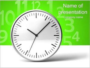 Шаблон презентации PowerPoint: Часы