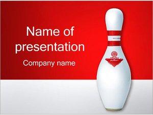 Шаблон презентации PowerPoint: Боулинг