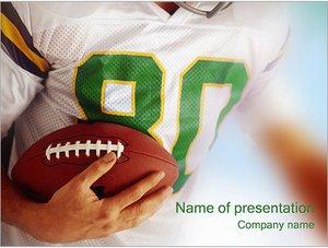 Шаблон презентации PowerPoint: Американский футбол