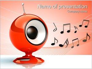 Шаблон презентации PowerPoint: Компьютерная колонка