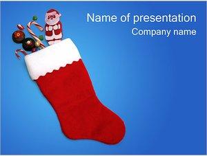 Шаблон презентации PowerPoint: Рождественские подарки