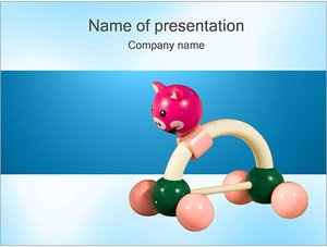 Шаблон презентации PowerPoint: Игрушка