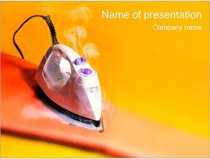 Шаблон презентации PowerPoint: Утюг