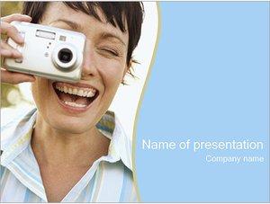 Шаблон презентации PowerPoint: Фотографирование