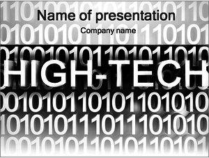Шаблон презентации PowerPoint: Высокие технологии (High-tech)