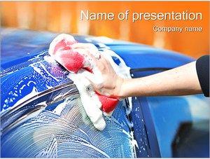 Шаблон презентации PowerPoint: Мойка автомобиля