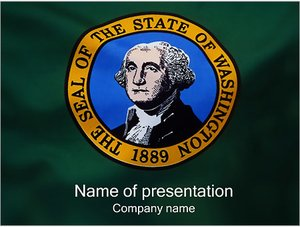 Шаблон презентации PowerPoint: Джордж Вашингтон