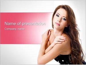 Шаблон презентации PowerPoint: Топ-модель