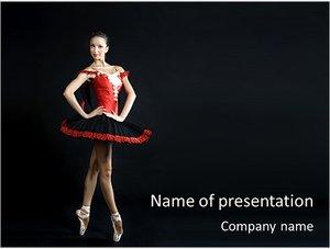 Шаблон презентации PowerPoint: Профессиональная танцовщица