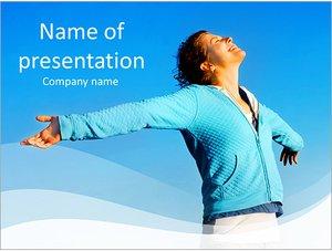 Шаблон презентации PowerPoint: Дух свободы