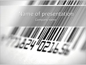 Шаблон презентации PowerPoint: Штрих-код