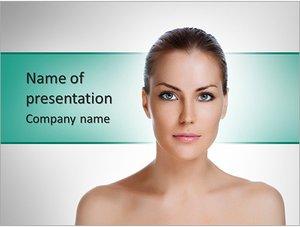 Шаблон презентации PowerPoint: Омоложение кожи и уход за телом