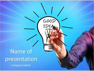 Шаблон презентации PowerPoint: Бизнес идея
