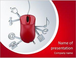 Шаблон презентации PowerPoint: Веб-сервисы и приложения