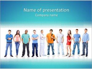 Шаблон презентации PowerPoint: Студенты