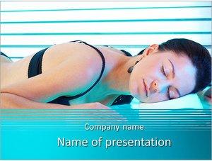 Шаблон презентации PowerPoint: Солярий