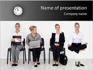 Шаблон презентации PowerPoint: Устройство на работу