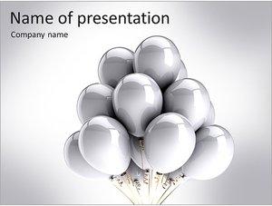 Шаблон презентации PowerPoint: Воздушные шары