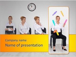 Шаблон презентации PowerPoint: Секретарь