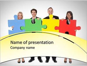 Шаблон презентации PowerPoint: Мозговой штурм