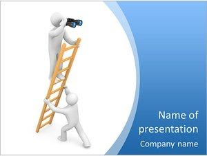 Шаблон презентации PowerPoint: Работа в команде